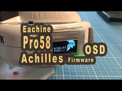 Eachine Pro58 Achilles OSD Firmware aufspielen