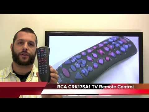 RCA CRK17SA1 TV Remote Control