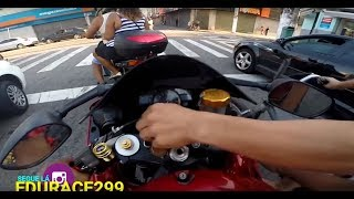 Extremely Close Calls, Road Rage, Crashes, Angry People & Scary Motorcycle Accidents [EP #107]