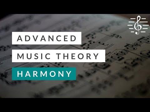 Advanced Music Theory - Harmony - YouTube