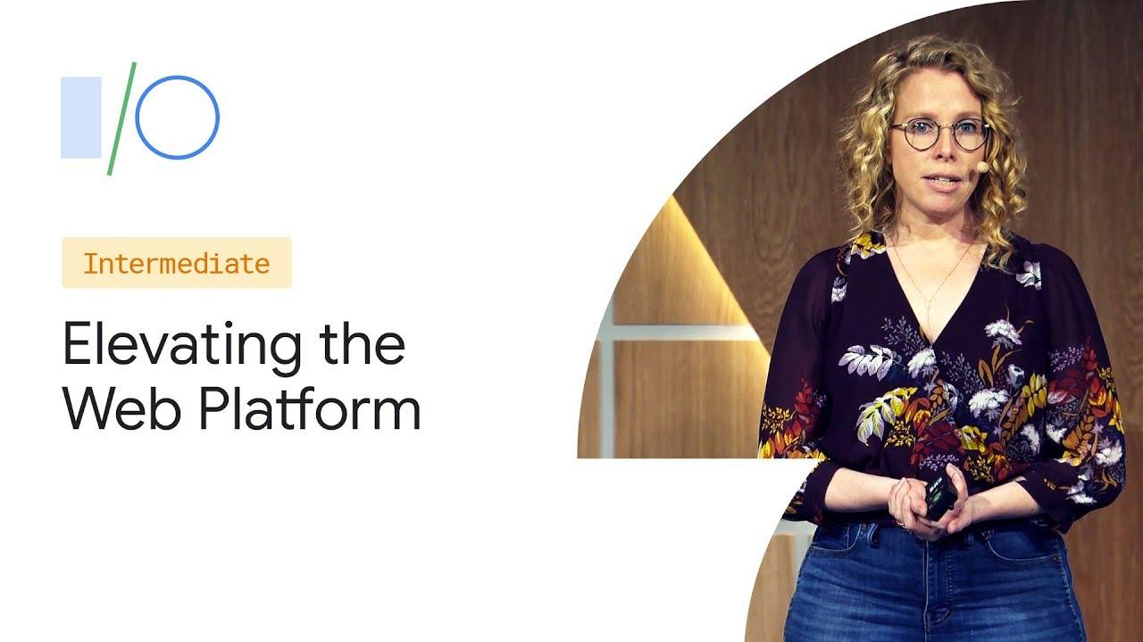 Elevating the Web Platform with the JavaScript Framework Community (Google I/O '19) Screenshot Download