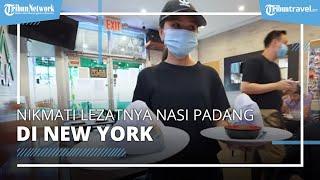 Lezatnya Nasi Padang di New York, Seharga Rp300 Ribu dan Disajikan dengan Bungkus Kertas