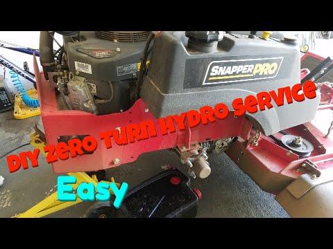 Hydro Gear Oil Change   Zef Jam