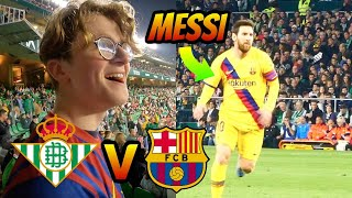 Seeing Lionel MESSI LIVE for the FIRST TIME! ●  72 HOURS in Seville Travel Vlog