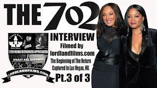 THE 702 INTERVIEW PT 3: 702 TALK CARLY B | LORDLANDFILMS.COM