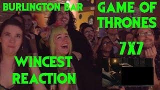 GAME OF THRONES Reactions at Burlington Bar /// 7x7 JON DANY SCENE \\\