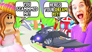 SCAMMING PEOPLE THEN GIVING THEM THEIR DREAM PET Gaming w/ The Norris Nuts