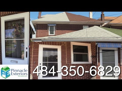 Another Lehigh Valley Home in Allentown Pennsylvania Left Beautiful With New Doors Windows Roofs and Siding & Window u0026 Door Installation Videos | Replacement Window Installation ...