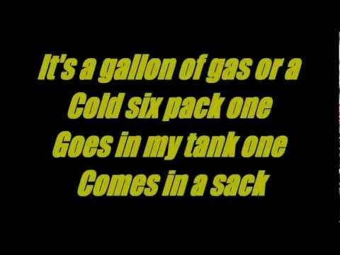 Beer Or Gasoline- Chris Young (Lyric Video)