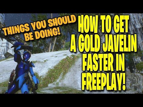 How To Get A GOLD Javelin Faster in Freeplay! ANTHEM