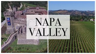 FLYING A DRONE OVER NAPA VALLEY | Cinematic 4K