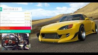 Forza Horizon 4 GoPro Drift Club 2.0 Story- Widebody Honda S2k (Fortune Island)  | SLAPTrain