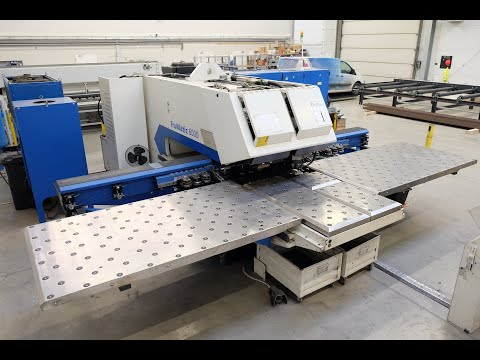 Punching Machine with Laser TRUMPF TRUMATIC 6000 2007