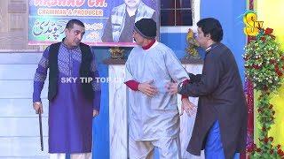 Zafri Khan and Iftikhar Thakur with Asif Iqbal Stage Drama Mastiyan Full Comedy Clip 2019