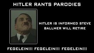 Hitler is informed Steve Ballmer will retire