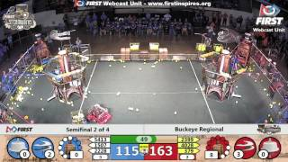Semifinal 2 - 2017 Buckeye Regional