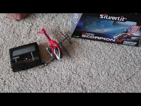 Unbox & Review Remote Control SilverLit Helicopter X Drone