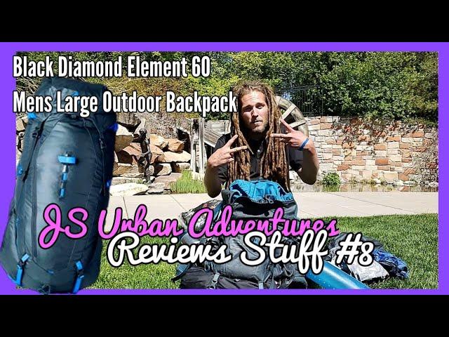 Видео Рюкзак Black Diamond Element 60L (Black)