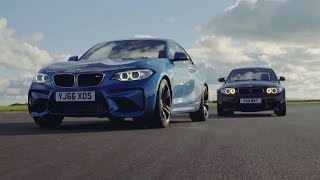 BMW M2 vs BMW 1M Coupe | Chris Harris Drives | Top Gear