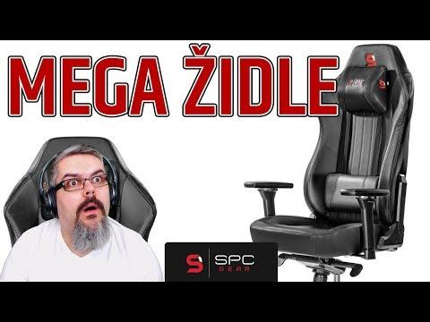 Unboxing a montáž židle SPC Gear SR700