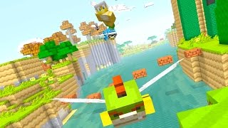 Minecraft Wii U - Nintendo Fun House - WE CAN FLY! [29]