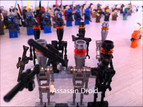 lego star wars sammlung mit 150 figuren