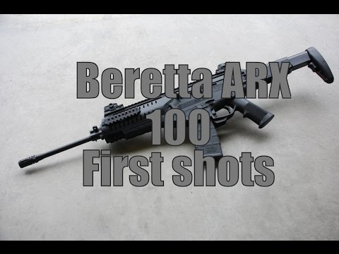 Beretta ARX 100 First Shots