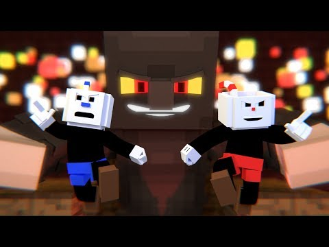 """The Devil's Due"" Cuphead Minecraft Music Video 
