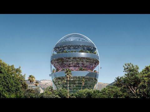 Nesvakidašnji dizajn zgrade u Los Anđelesu