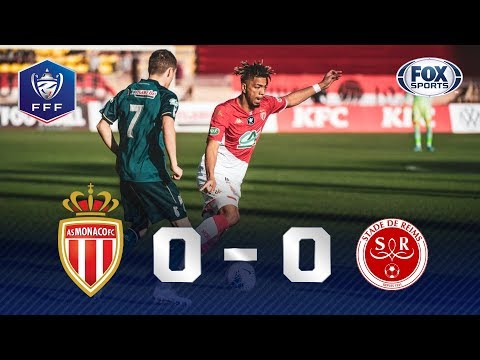 EMOÇÃO NOS MINUTOS FINAIS! Veja os melhores momentos de Mônaco 2x1 Reims pela Copa da França