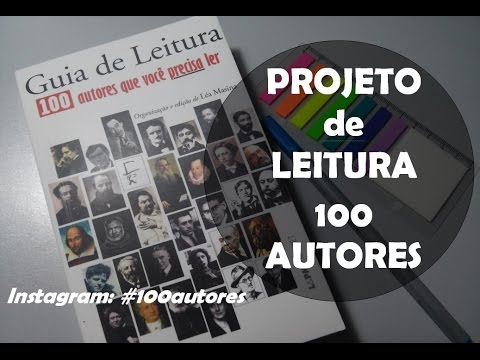 Projeto 100 Autores [Projeto de Leitura] #1