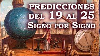 Predicciones Signo por Signo del Domingo 19 al 25 de Agosto