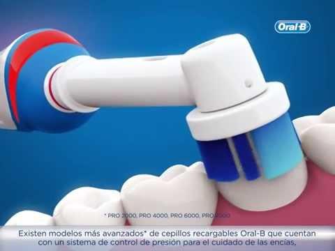 Como usar los cepillos de dientes electricos Oral-B