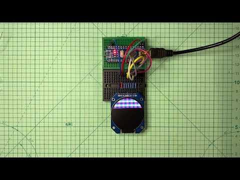 Arduino_GFX GC9A01 x Arduino Nano