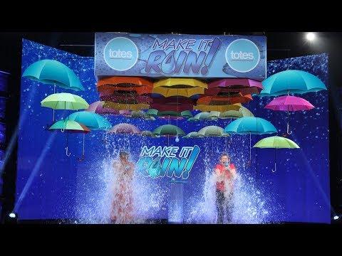 Fan Wins Big in a Double Dose of 'Make It Rain'