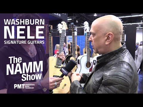 New Washburn Nuno Bettencourt 'Nele' Signature Guitars | NAMM 2020