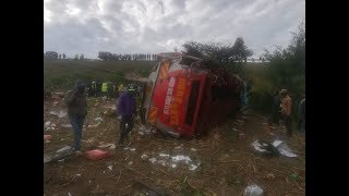 Death toll rises to 50 in Fort Ternan bus crash - VIDEO
