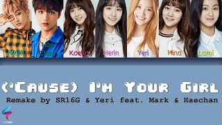 S.E.S. - I'm Your Girl (REMAKE) [Legendado PT-BR | HAN | ROM] Lyrics Color Coded