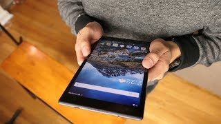 Lenovo Tab 4 8 Plus hands-on