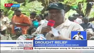 Senator Gideon Moi leads food distribution in Baringo County  | DROUGHT DIARIES