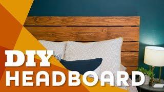 Make A Wood Headboard For Less Than $100 - HGTV Handmade