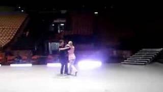 DWTS tour rehersals Louis and Irina crazy paso