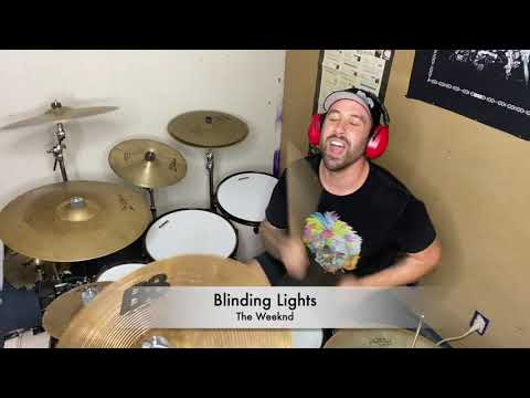 "A recent drum cover I did of this amazing song.  ""Blinding Lights"" by The Weeknd"