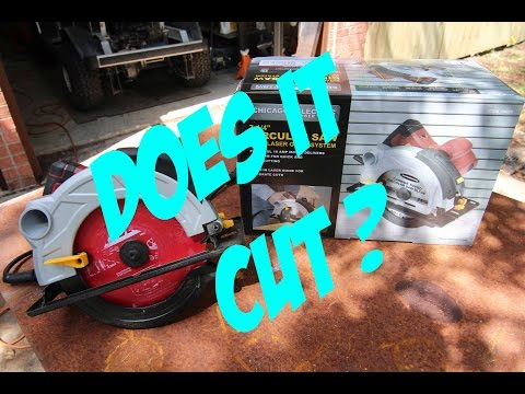 Harbor Freight Circular Saw Review –  # 61440 or 69078