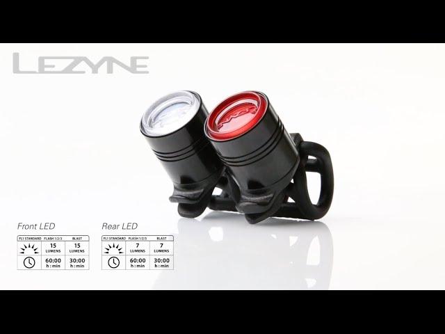 Видео Мигалка Lezyne LED Femto Drive Rear black