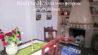 preview picture of video 'Riad Dar Meziana, en haut il fait aussi bleu'