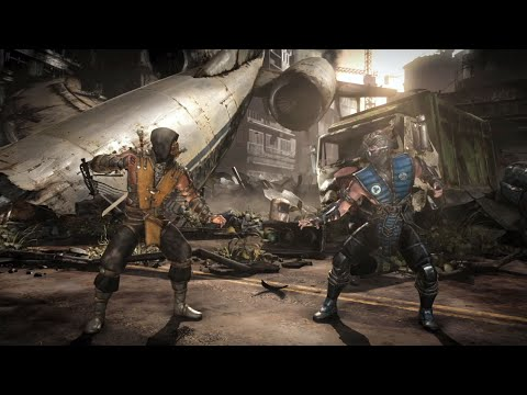 Commercial for Mortal Kombat X (2015) (Television Commercial)