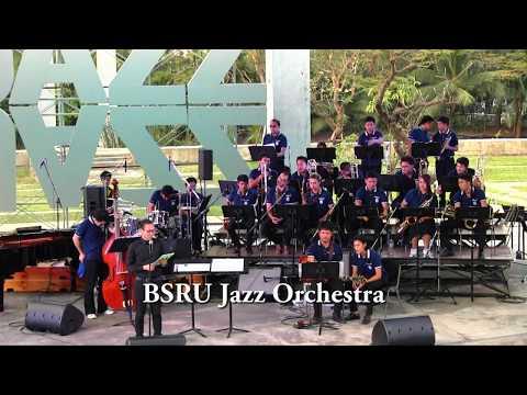 BSRU Jazz Big Band at Thailand International Jazz Conference 2016