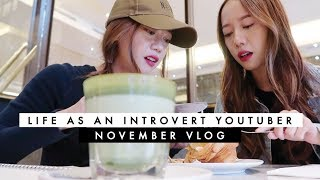 🎬 [VLOG] Life As An Introvert YouTuber | SO-JU TWINS