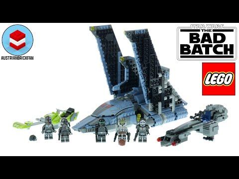 Vidéo LEGO Star Wars 75314 : La navette d'attaque du Bad Batch